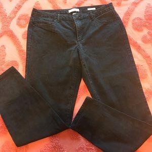 Vintage America black boho skinny jeans 12/31